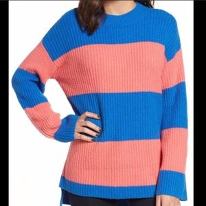 - BP Rugby Striped Sweater NEW WITH TAGS Blu…